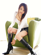 Asian boots porn